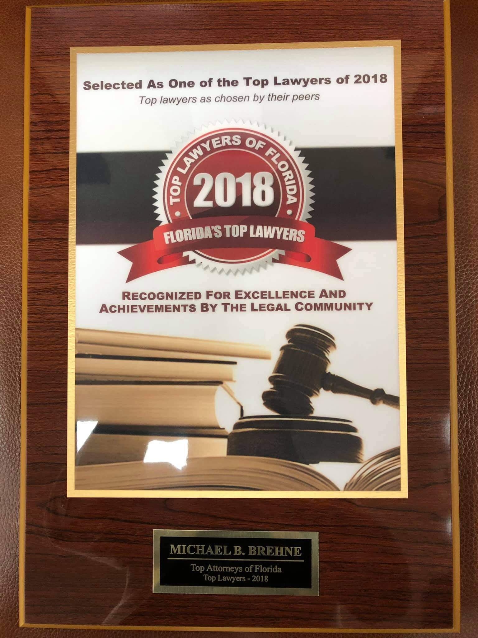 Personal Injury Lawyer Award