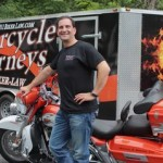 911 Biker Law's Fearless Leader and Attorney Michael Brehne in Key West at the 2011 Key West Poker Run