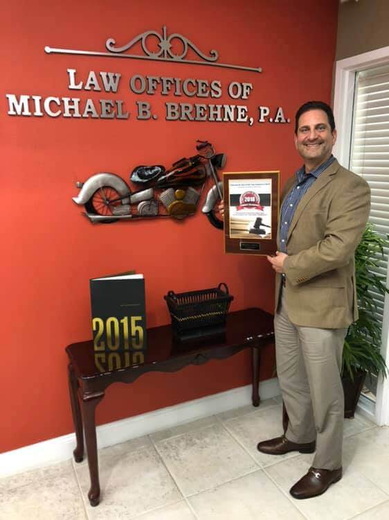 Michael B. Brehne Named To Top Lawyers Of 2018