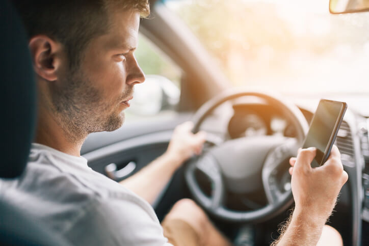 Picture for Warnings To Be Issued For Distracted Driving In Florida