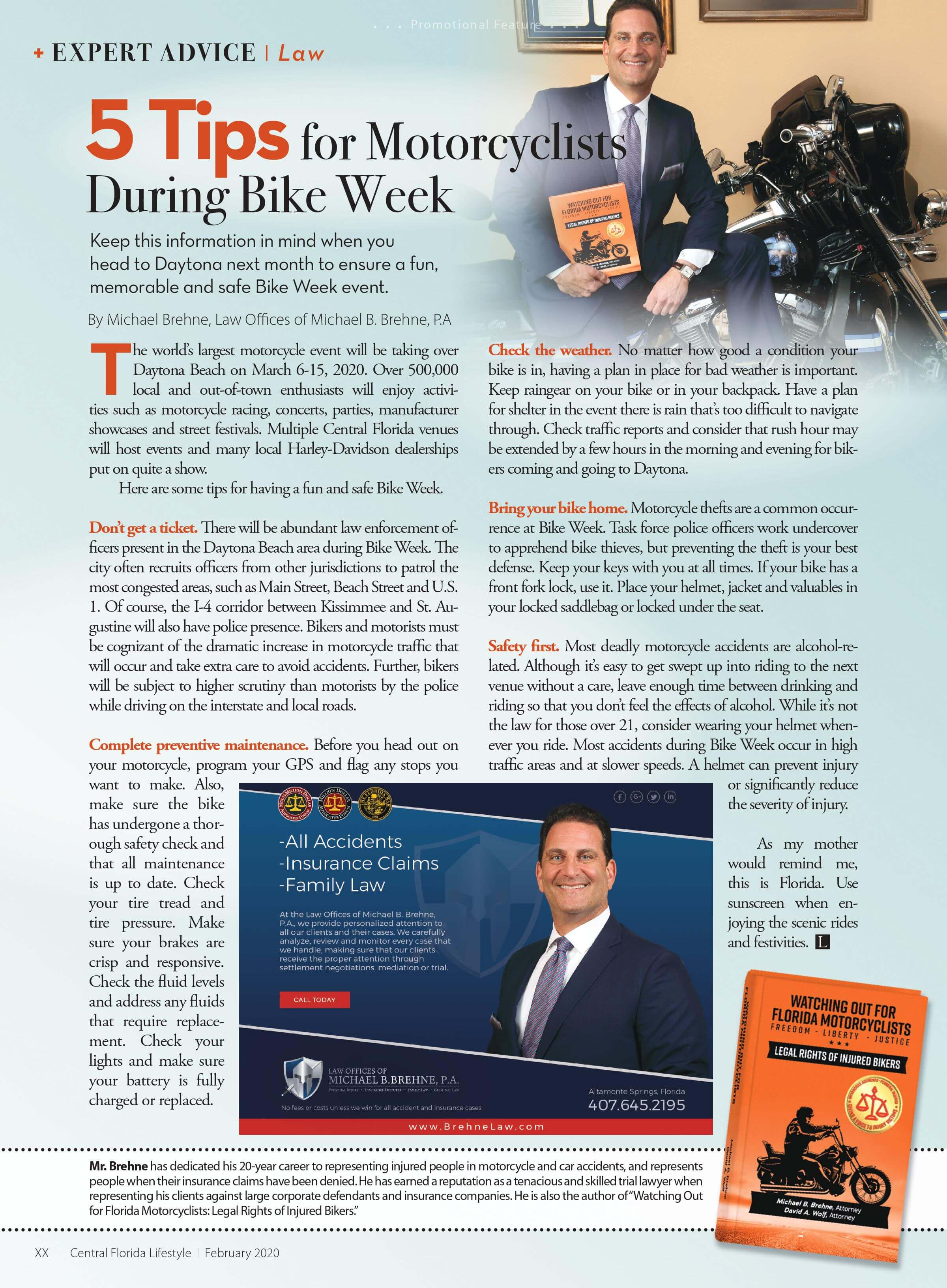 Picture for 5 Tips For Motorcyclists During Bike Week