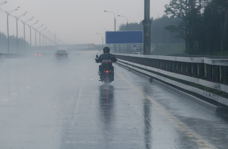 Tips For Riding Safely During A Storm