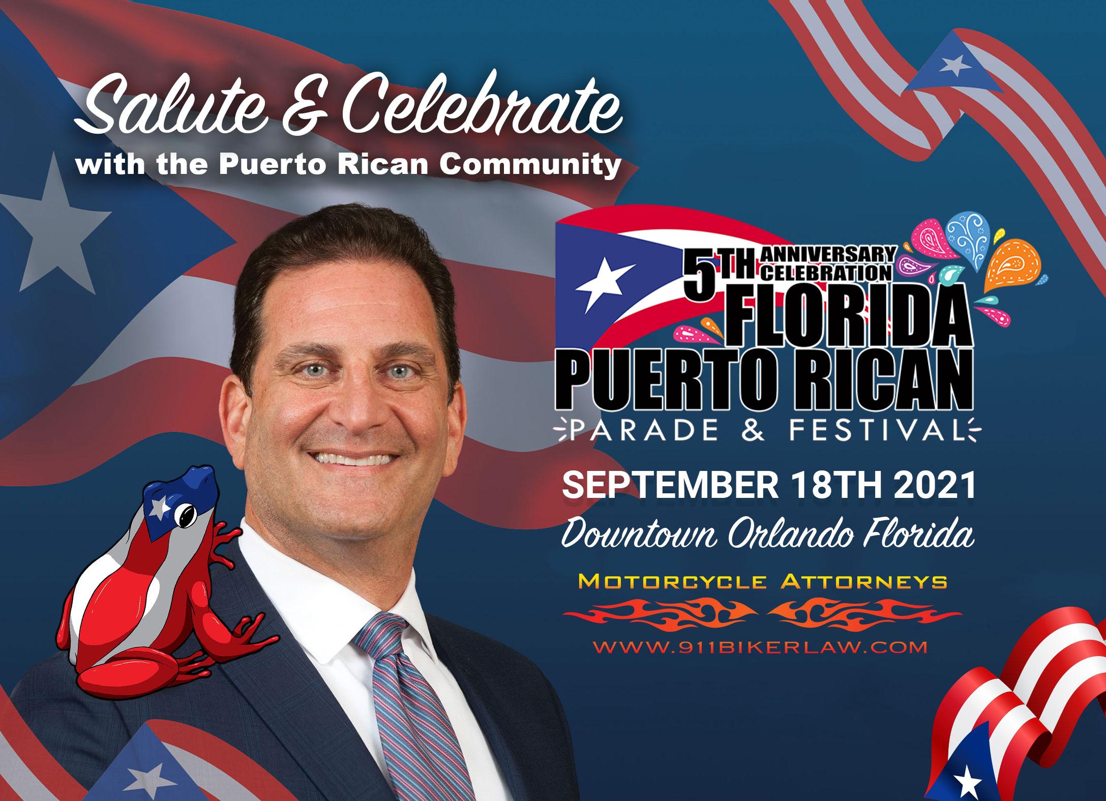 Florida Puerto Rican Parade's Gala Awards Dinner & Gua'kia 5K